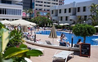 Outdoor swimming pool Coral Suites & Spa Hotel